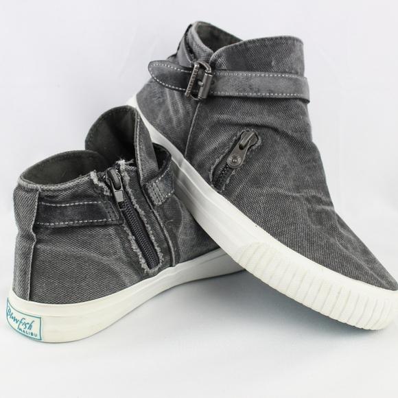 Malibu Mondo Gray Canvas Sneakers